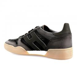 hogan nouveautés sneakers Sneakers H357HH H357 - NUBUCK ET TOILE DÉLAVÉ