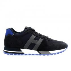 hogan nouveautés sneakers Sneakers H383HH H383 - NUBUCK ET TOILE - MARI