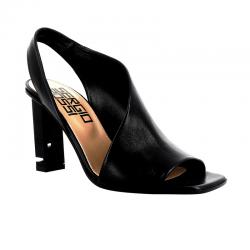 sergio rossi nouveautés sandales Sandales à talon 90 mmSR PEEP SUPERHEEL T9 - CUIR - NO