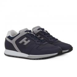 hogan nouveautés sneakers Sneakers H321HH BASKETS H321 - CUIR GOMMÉ ET