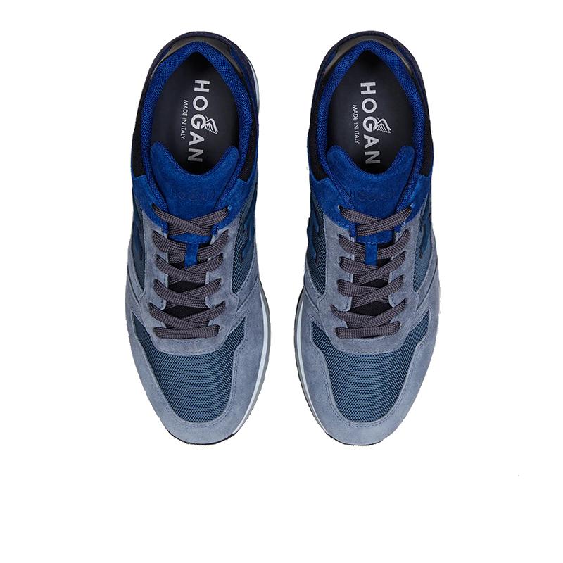 hogan nouveautés sneakers Sneakers H321HH BASKETS H321 - NUBUCK ET TOIL