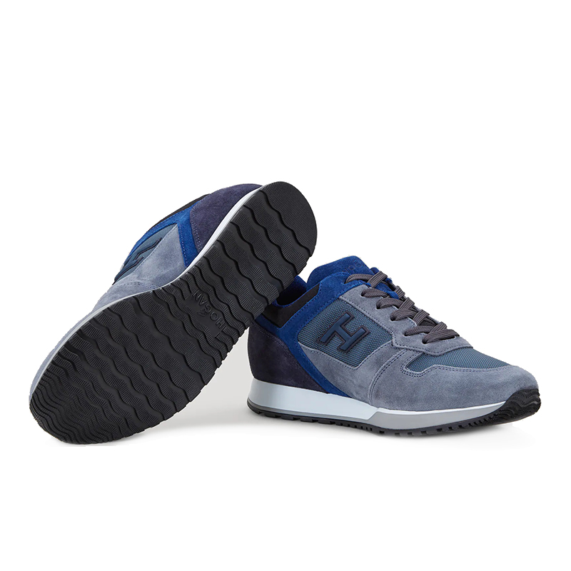 hogan sneakers Sneakers H321HH BASKETS H321 - NUBUCK ET TOIL