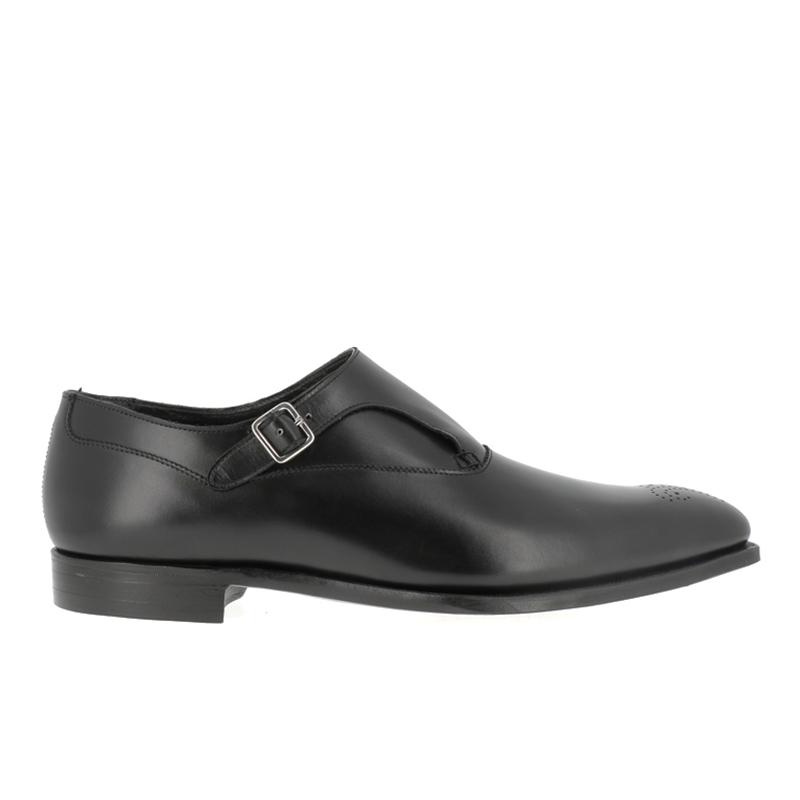 crockett & jones promotions chaussures à boucles c&j winstonC&J WINSTON - CUIR - BLACK