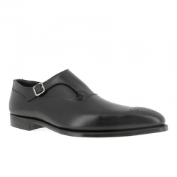 crockett & jones promotions chaussures à boucles c&j winstonC&J WINSTON - CUIR - BLACK