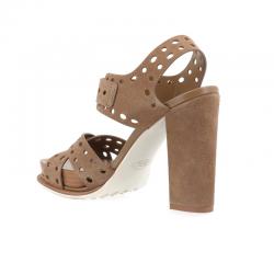tod's promotions sandales sobois croise t8SOBOIS CROISE T8 - NUBUCK PERFOR