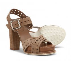 tod's sandales sobois croise t8SOBOIS CROISE T8 - NUBUCK PERFOR