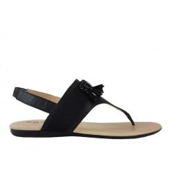 hogan promotions sandales tana tongTANA TONG - CUIR - NOIR
