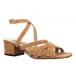 sergio rossi nouveautés sandales SandalesSR SANDALE BRIDE T45 - NUBUCK -