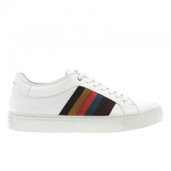 paul smith nouveautés sneakers Sneakers IvoPS SNEAK IVO - CUIR - BLANC ET L