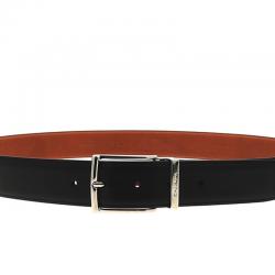 santoni ceintures Ceinture RéglableCEINTURI - CUIR - NOIR