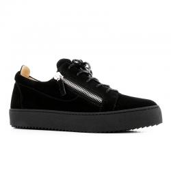 giuseppe zanotti sneakers Sneakers FrankieGZ H FRANKIE - NUBUCK - NOIR, ZI