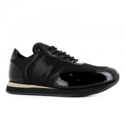 giuseppe zanotti nouveautés sneakers Sneakers JimmyGZ H JIMMY - VERNIS ET TOILE - N