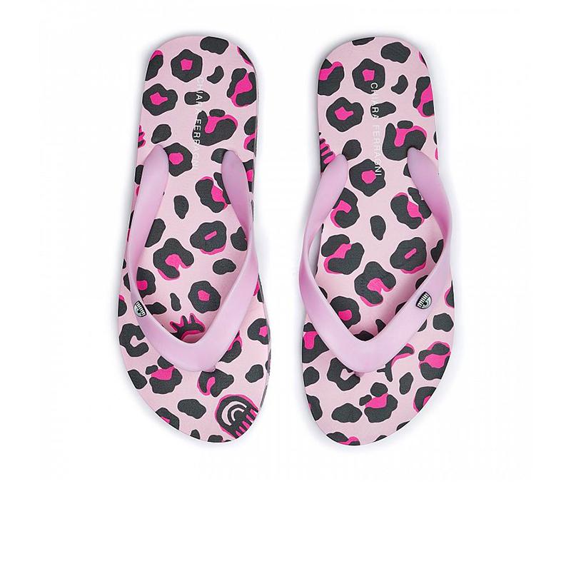 chiara ferragni nouveautés sandales Flip FlopCF FLIP FLOP 2 - PVC - LÉOPARD R