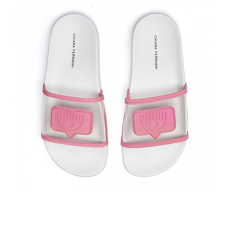chiara ferragni sandales Flip FlopCF FLIP FLOP - PVC - ROSE ET LOG