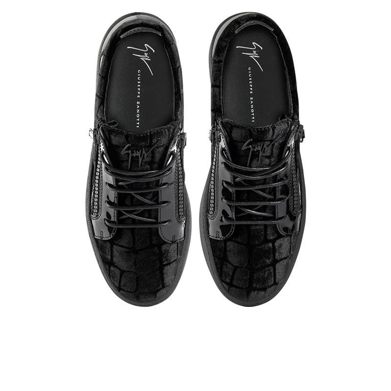 giuseppe zanotti sneakers Sneakers FrankieGZ H FRANKIE - VELOURS IMPRIMÉ