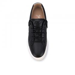 giuseppe zanotti nouveautés sneakers Sneakers FrankieGZ H FRANKIE - CUIR PERFORÉ - NO