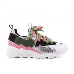 pierre hardy nouveautés sneakers Sneakers CometPHF COMET F - CUIR IMPRIMÉ ET NÉ