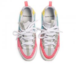 pierre hardy nouveautés sneakers Sneakers CometPHF COMET F - CUIR ET VELOURS -