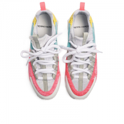 pierre hardy nouveautés sneakers Sneakers Trek CometPHF COMET F - CUIR ET VELOURS -