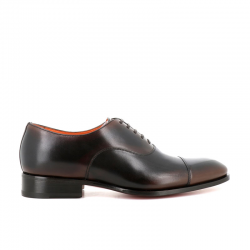 santoni derbies et richelieux Richelieux CarterCARICH - CUIR BISIDE - MARRON