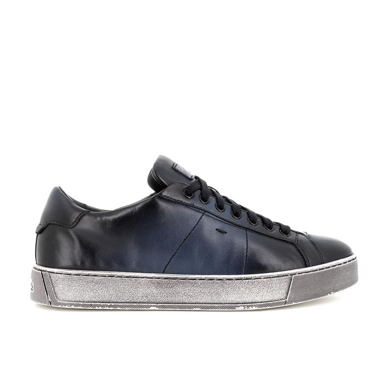 santoni nouveautés sneakers Sneakers GloriaNEW GLORIA 6 - CUIR SOUPLE ET PA