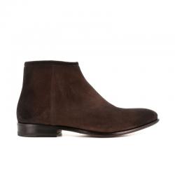 santoni nouveautés boots et bottillons Boots LevanteLEVBOOTS - NUBUCK VIEILLI - MARR