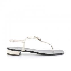 giuseppe zanotti nouveautés sandales SandalesGZ F NP COEUR - NUBUCK ET BIJOUX