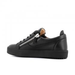 giuseppe zanotti nouveautés sneakers Sneakers FrankieGZ H FRANKIE - CUIR SOUPLE - NOI