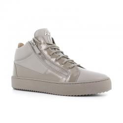 giuseppe zanotti nouveautés sneakers Sneakers KrissGZ H KRISS - CUIR ET VERNIS - GR