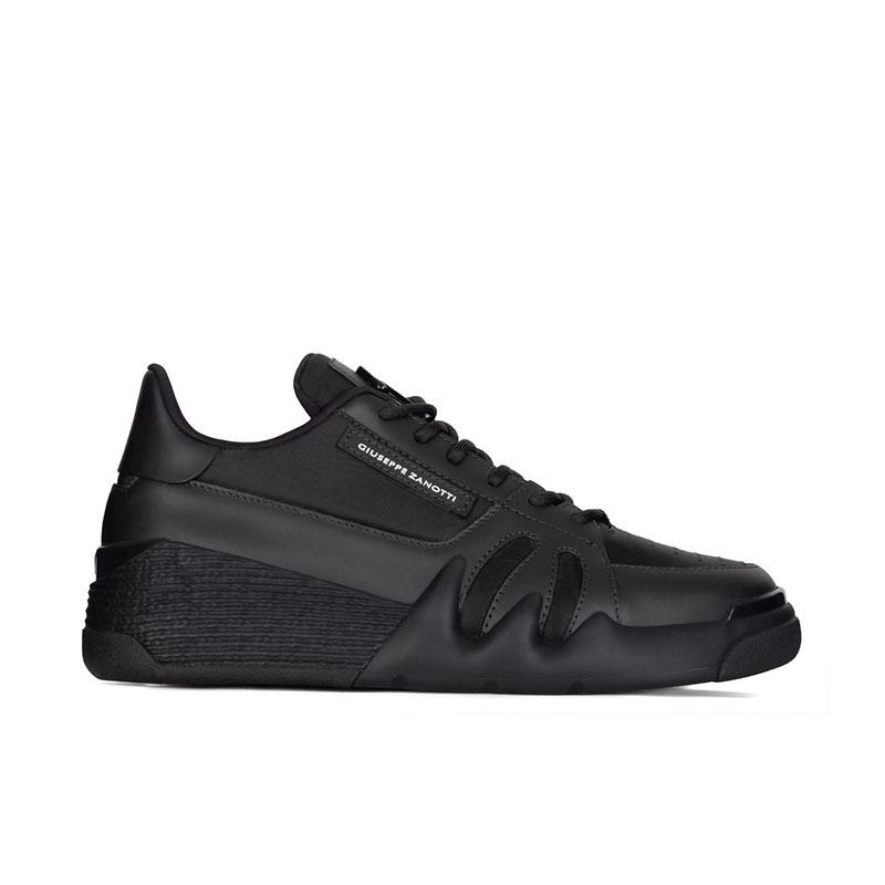 giuseppe zanotti sneakers Sneakers TalonGZ H TALON BAS - CUIR, TOILE ET