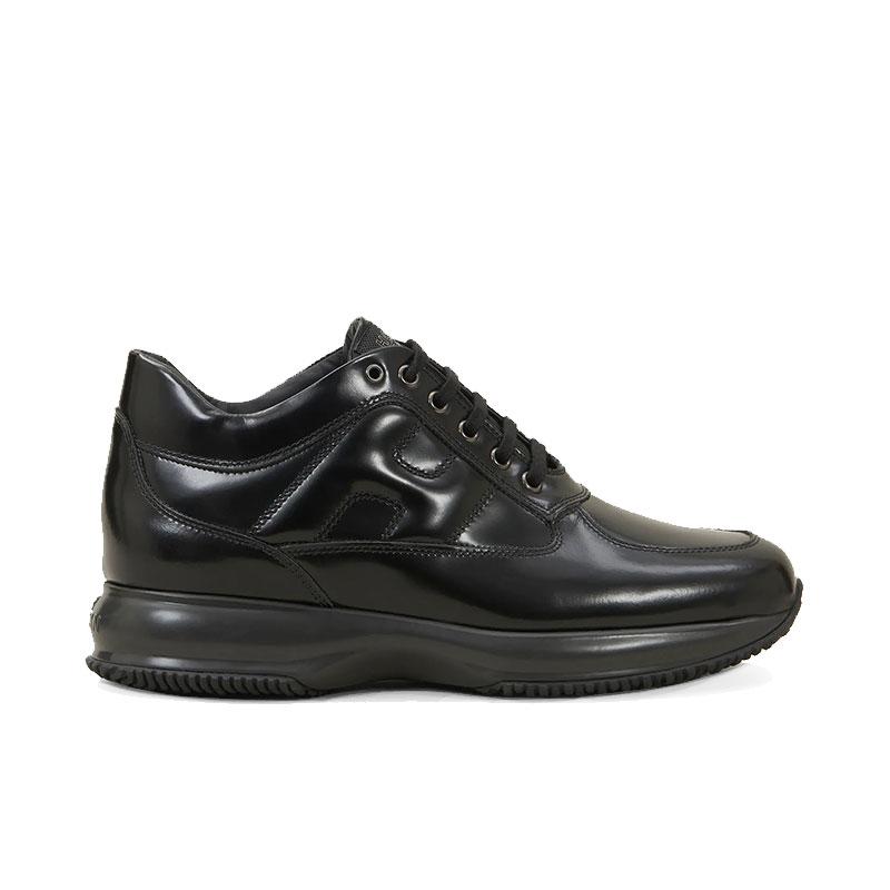 hogan nouveautés sneakers Sneakers InteractiveHH INTERACTIVE - CUIR GLACÉ - NO