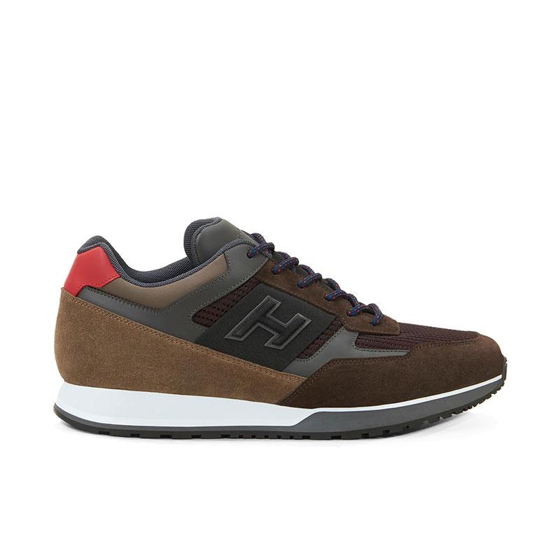 hogan nouveautés sneakers Sneakers H321HH BASKETS H321 - NUBUCK, TOILE