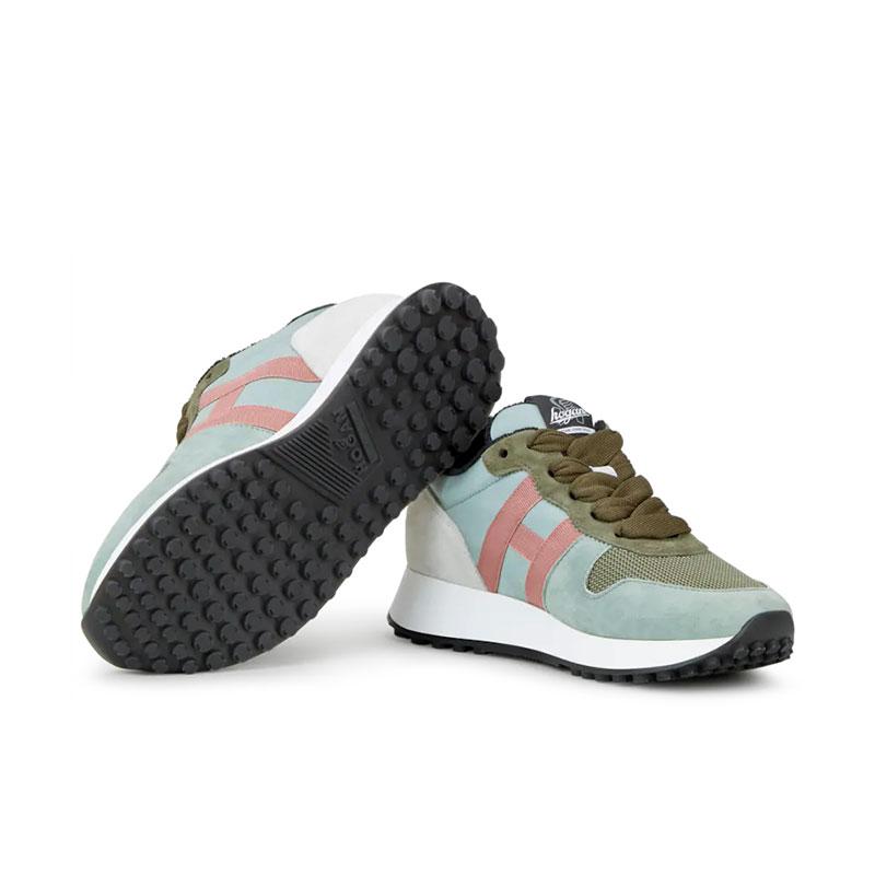 hogan nouveautés sneakers sneakers h383SNEAKERS H383 - NUBUCK ET TOILE