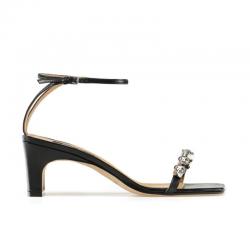sergio rossi nouveautés sandales sr sandale bijoux t6SR SANDALE BIJOUX T6 - CUIR - NO