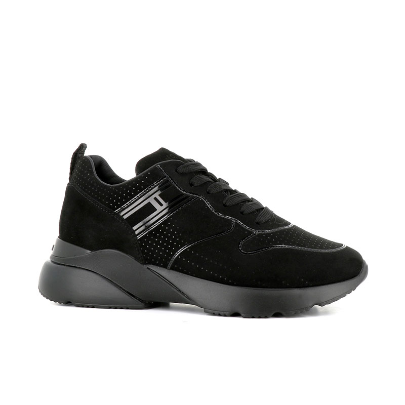 hogan nouveautés sneakers Sneakers Active OneHF ACTIVE ONE - NUBUCK ET VERNIS