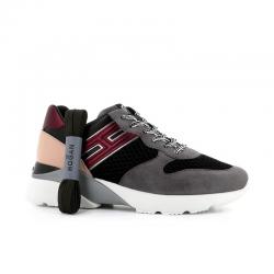 hogan nouveautés sneakers Sneakers Active OneHF ACTIVE ONE - NUBUCK, TOILE ET