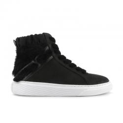 hogan sneakers hogloria f hautHOGLORIA F HAUT - NUBUCK ET FOUR