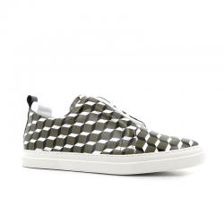 pierre hardy sneakers SlidersPHH SLIDER JX02 - TOILE ENDUITE
