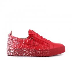 giuseppe zanotti nouveautés sneakers Sneakers FrankieGZ H FRANKIE - CUIR ET PROJECTIO