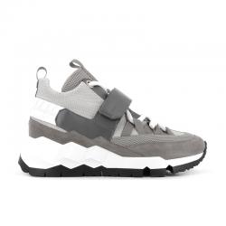 pierre hardy sneakers Sneakers PHMCPHH MC - NUBUCK, CUIR ET TOILE -