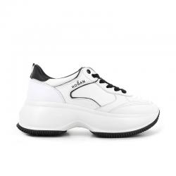 hogan nouveautés sneakers Sneakers Maxi ActiveHF MAXI ACTIVE - CUIR - BLANC ET
