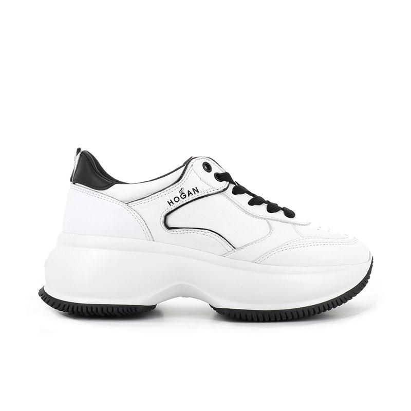 hogan sneakers Sneakers Maxi ActiveHF MAXI ACTIVE - CUIR - BLANC ET