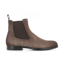 santoni boots et bottillons Bottines NewportNEWPORT BOOTS - NUBUCK VIEILLI -