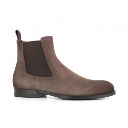 santoni nouveautés boots et bottillons Bottines NewportNEWPORT BOOTS - NUBUCK VIEILLI -