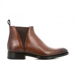 santoni boots et bottillons Bottines à élastiques CarterCARTER BOOTS - CUIR PATINÉ - GOL