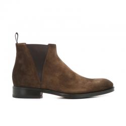 santoni nouveautés boots et bottillons Bottines à élastiques CarterCARTER BOOTS - NUBUCK DELAVÉ - T