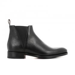 santoni boots et bottillons Bottines à élastiques CarterCARTER BOOTS - CUIR GRAINÉ - NOI