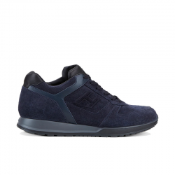 hogan sneakers Sneakers H321HH BASKETS H321 - NUBUCK - MARIN