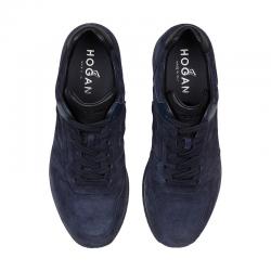 hogan nouveautés sneakers Sneakers H321HH BASKETS H321 - NUBUCK - MARIN