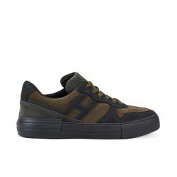 hogan nouveautés sneakers Sneakers RebelCASSETTA REBEL 2 - NUBUCK - NOIR